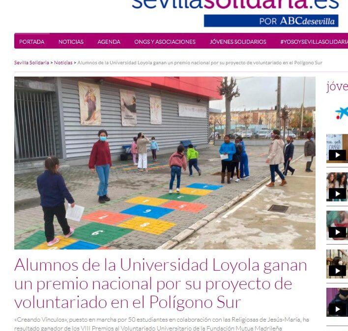 VIII Premio Mutua Madrileña – Voluntariado JM Sevilla